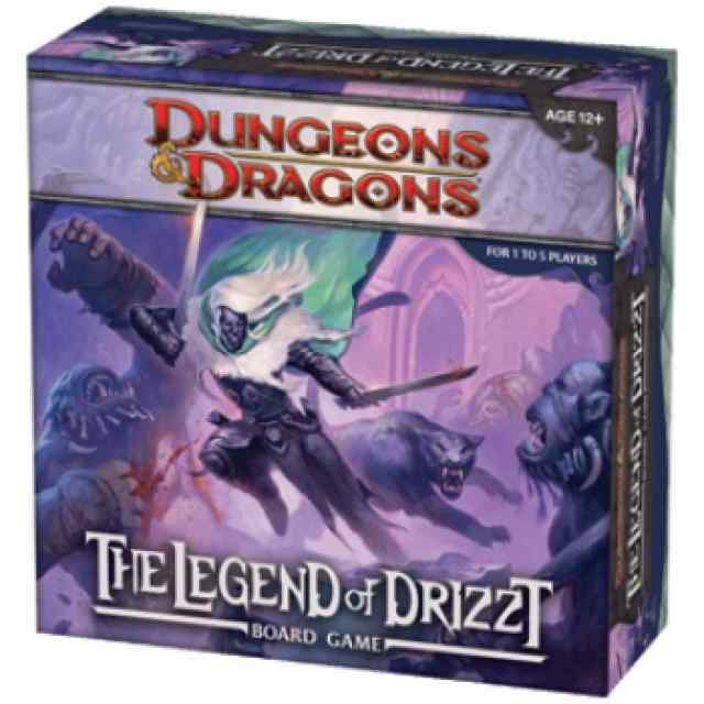 Dungeons & Dragons: The Legend of Drizzt TABLERUM