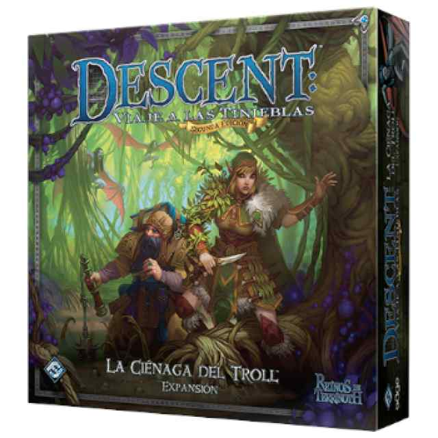Descent 2 Edicion: La Ciénaga del Troll TABLERUM
