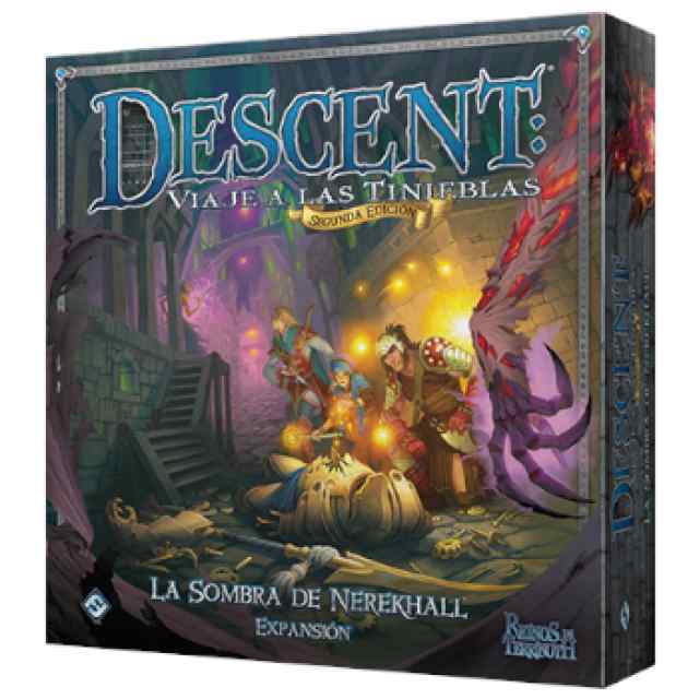 comprar Descent: La sombra de Nerekhall TABLERUM