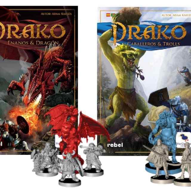 Drako 1 + Drako 2 (Ed. 2021) Pack TABLERUM