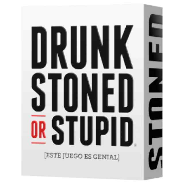 Drunk, stoned or stupid TABLERUM