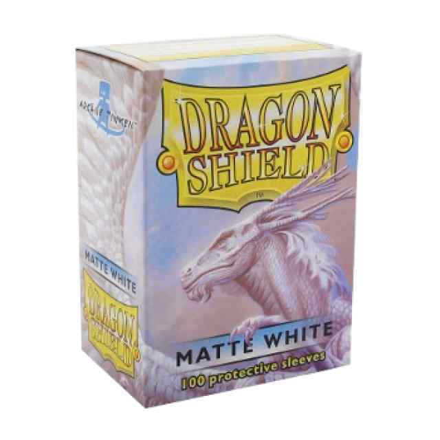 Fundas Dragon Shield 100 Matte White TABLERUM
