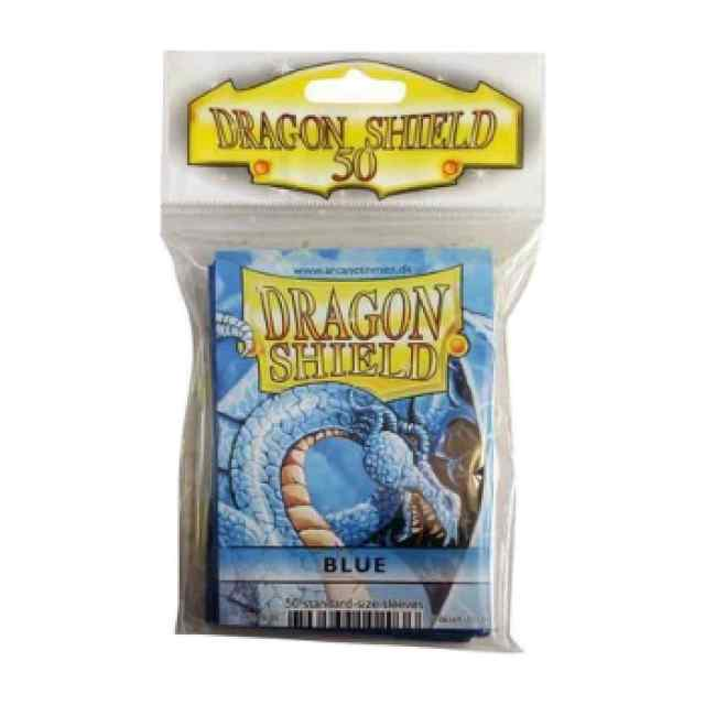 Fundas Dragon Shield 50 Azul TABLERUM