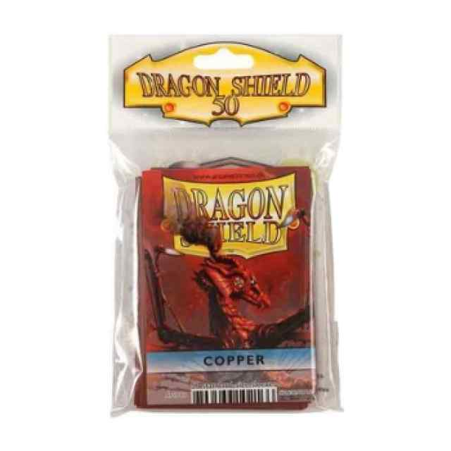 Fundas Dragon Shield 50 Cobre TABLERUM