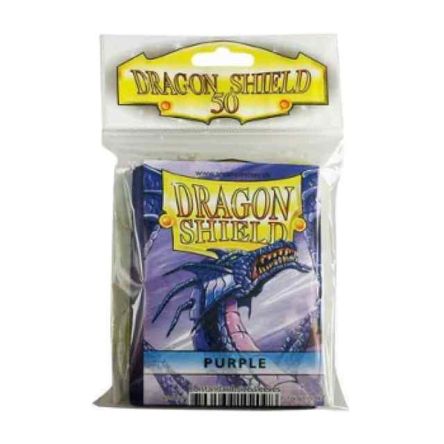 Fundas Dragon Shield 50 Púrpura TABLERUM