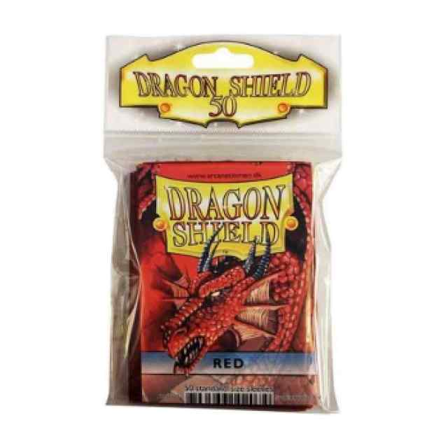 Fundas Dragon Shield 50 Rojo TABLERUM