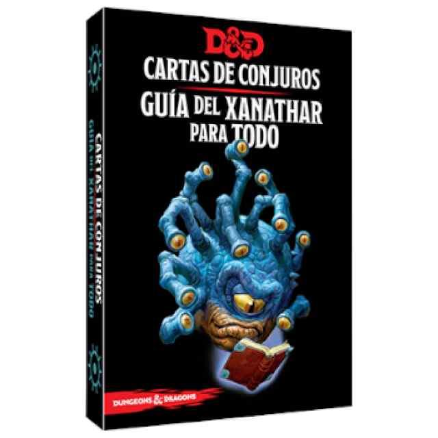 Dungeons & Dragons: Accesorios: Cartas de conjuros: Guía del Xanathar para Todo TABLERUM