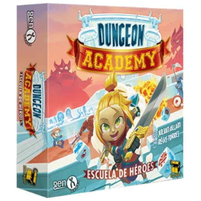Dungeon Academy: Escuela de Héroes TABLERUM