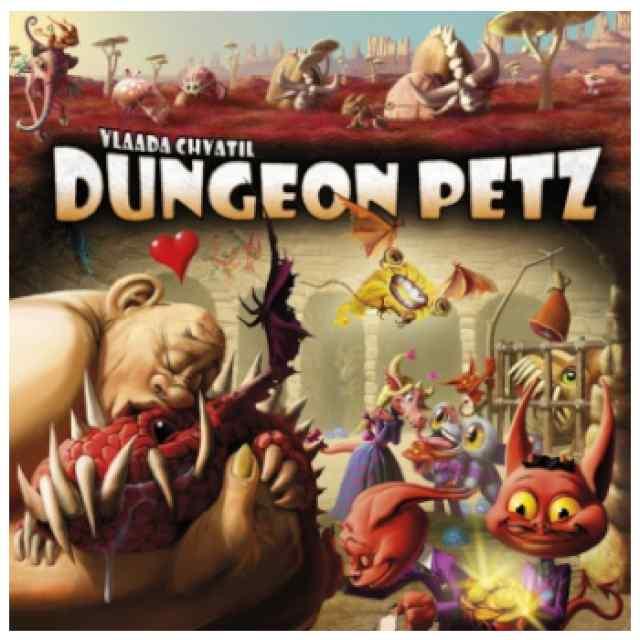 Dungeon Petz (INGLÉS) TABLERUM