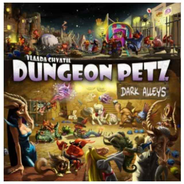 Dungeon Petz: Dark Alleys TABLERUM