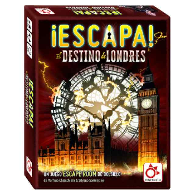 ¡Escapa!: El destino de Londres TABLERUM