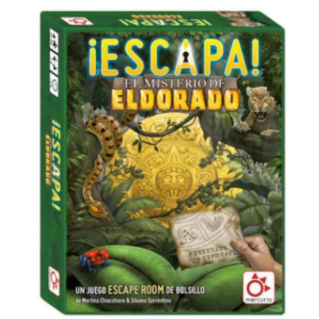 ¡Escapa!: El Misterio de Eldorado TABLERUM