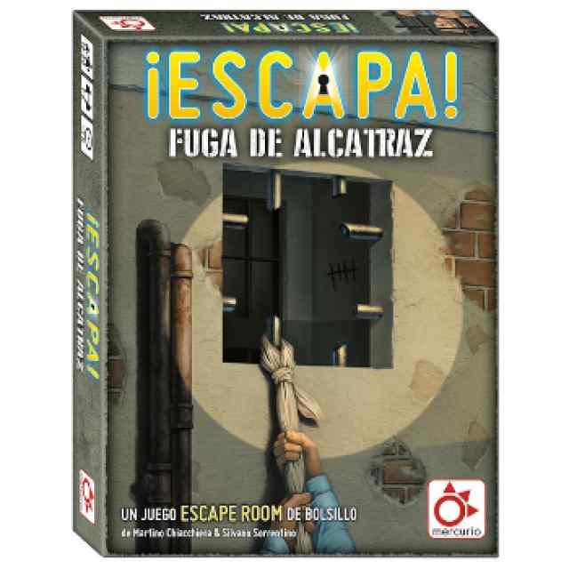 ¡Escapa!: La Fuga de Alcatraz TABLERUM