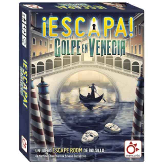 ¡Escapa!: Golpe en Venecia TABLERUM