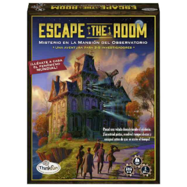 Escape the Room: Misterio en la Mansión del Observatorio TABLERUM