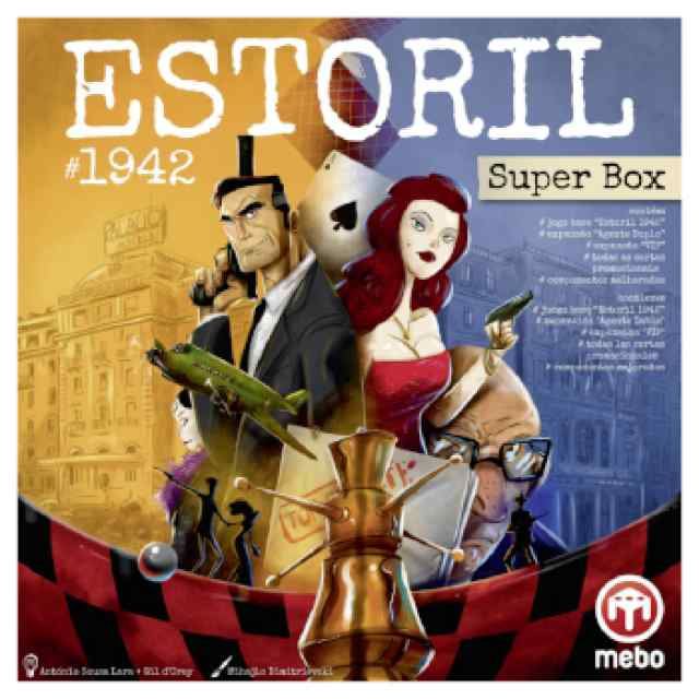 Estoril 1942: Super Box TABLERUM