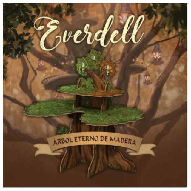 Everdell Árbol Eterno de Madera TABLERUM