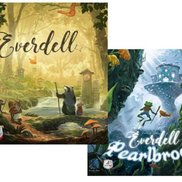 Everdell + Everdell: Pearlbrook TABLERUM
