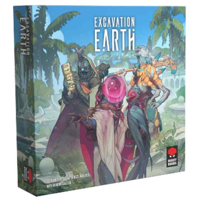 Excavation Earth TABLERUM