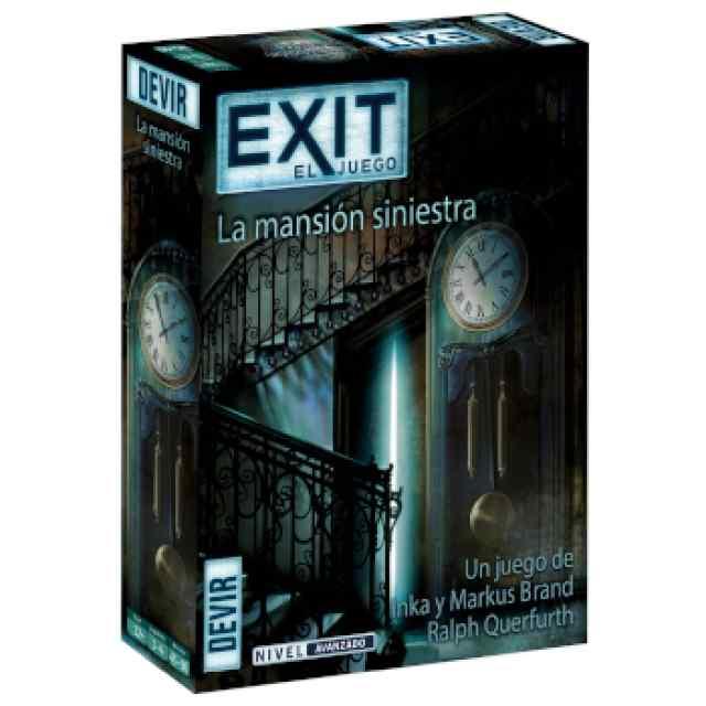Exit: 11.- La Mansión Siniestra TABLERUM