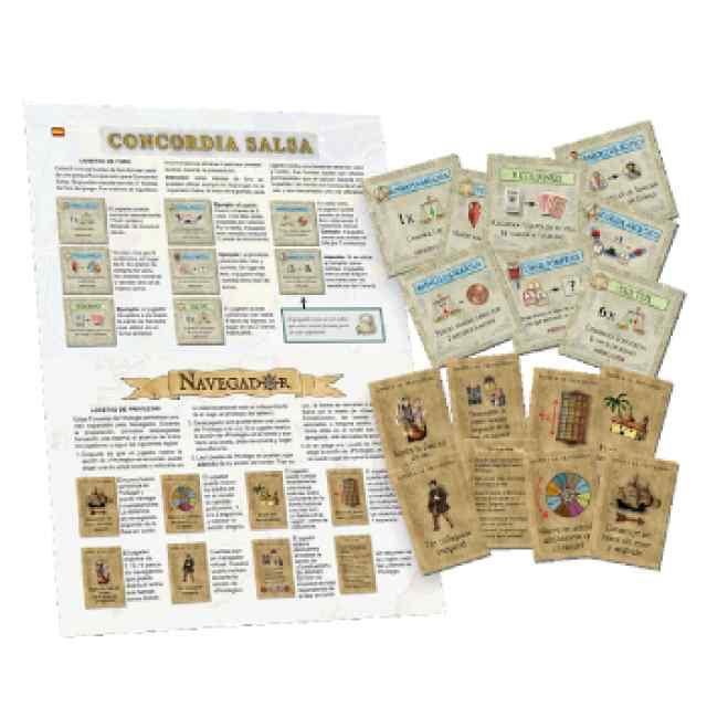 Navegador y Concordia Salsa Expansion Exclusiva TABLERUM