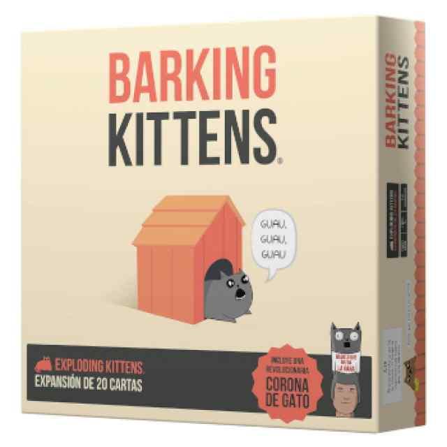 Exploding Kittens: Barking Kittens TABLERUM