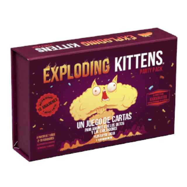 Exploding Kittens Party Pack TABLERUM