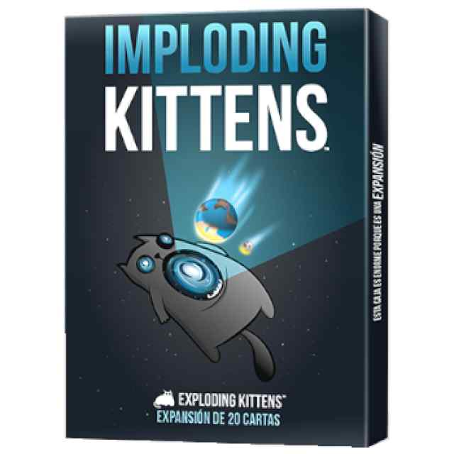 Exploding Kittens: Imploding Kittens TABLERUM