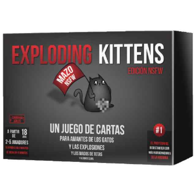 Exploding Kittens NSFW TABLERUM