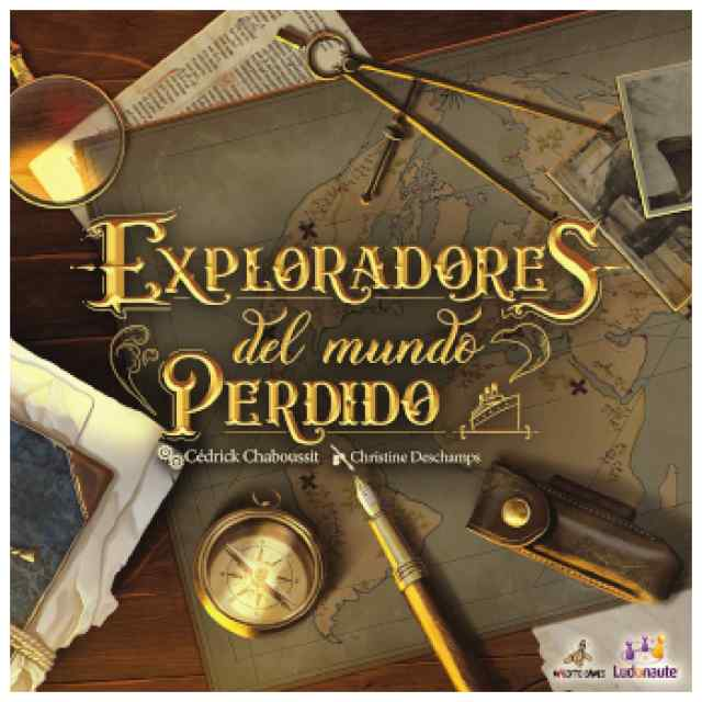 Exploradores del Mundo Perdido TABLERUM