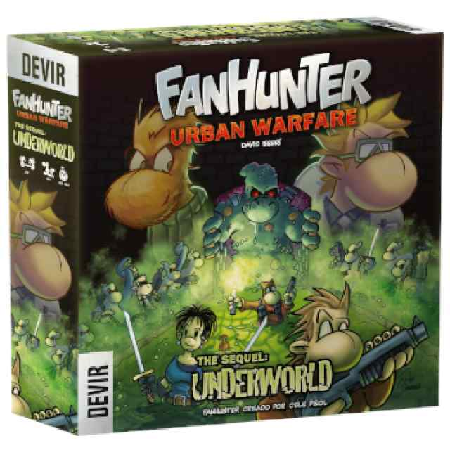 Fanhunter Urban Warfare: The Sequel Underworld TABLERUM