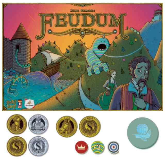 Feudum: Pack de Luxe TABLERUM