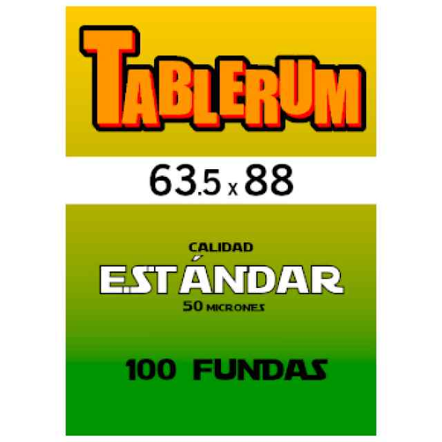 Fundas TABLERUM Estándar 63.5 x 88 (100 uds) TABLERUM