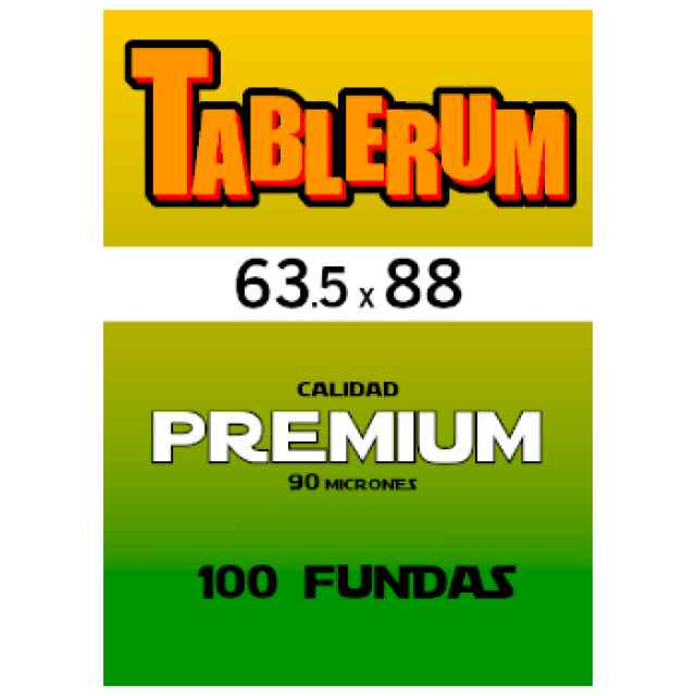 Fundas TABLERUM PREMIUM 63.5 x 88 (100 uds) TABLERUM