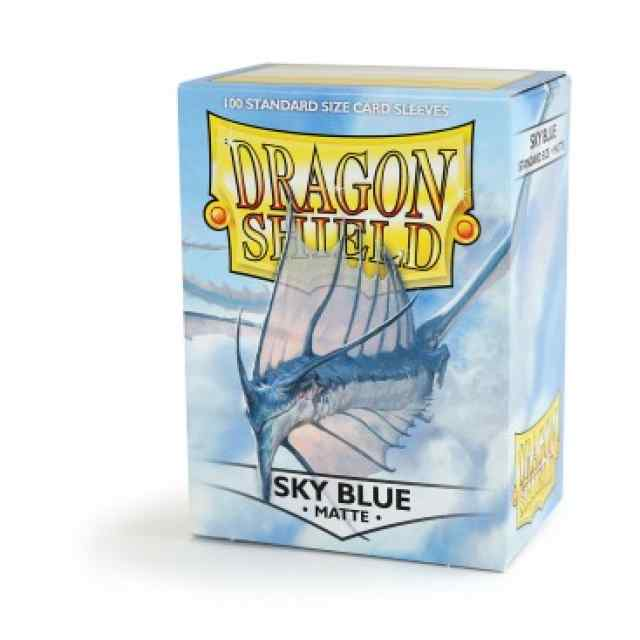 fundas dragon shield matte azul cielo