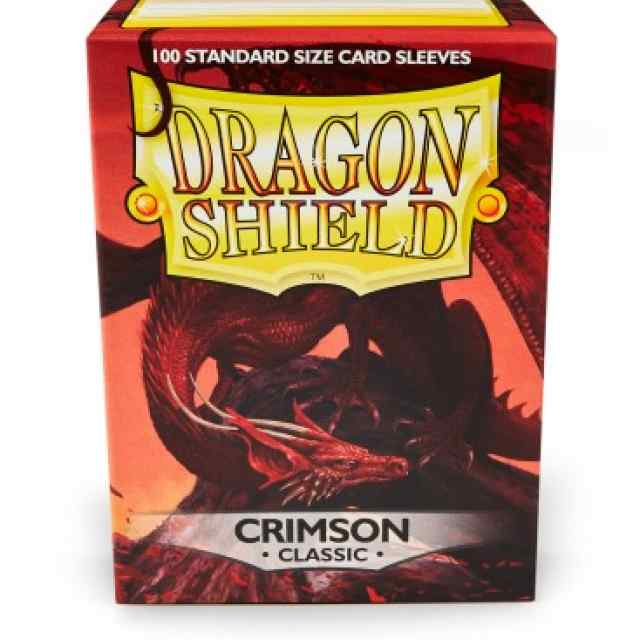 fundas dragon shield carmesí