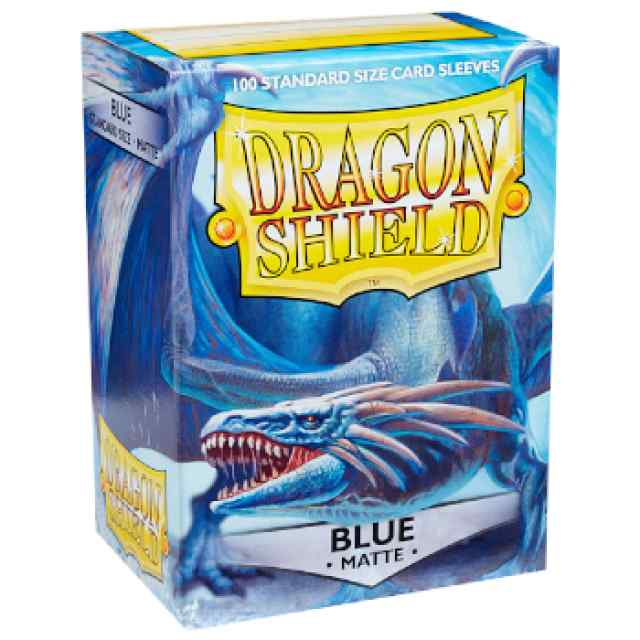 Fundas Dragon Shield 100 Azul Mate TABLERUM