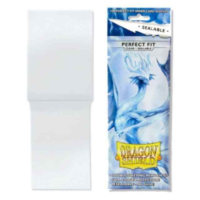 Fundas Dragon Shield Perfect Fit Sealable Clear 100 TABLERUM