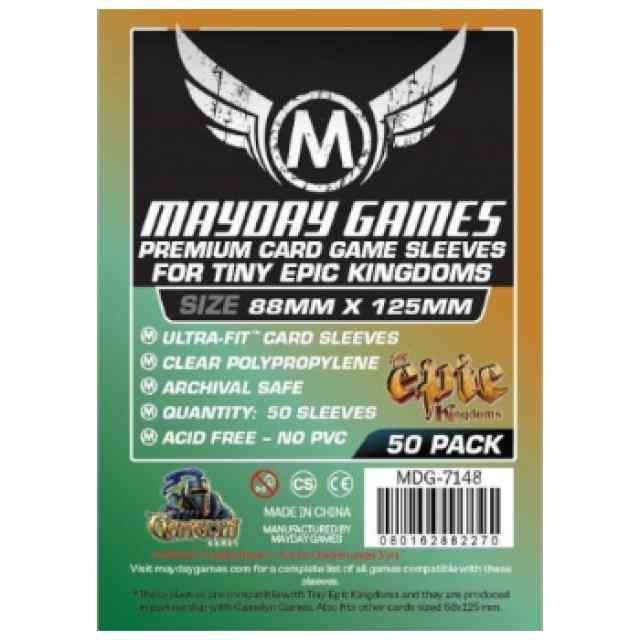 Fundas Mayday Premium Custom Tiny Epic Kingdoms Sleeves 88 X 125 TABLERUM