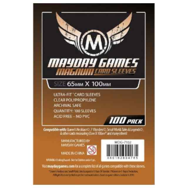Fundas Mayday 65 x 100 Magnum Cooper Sleeves (7Wonders) (100 uds) TABLERUM