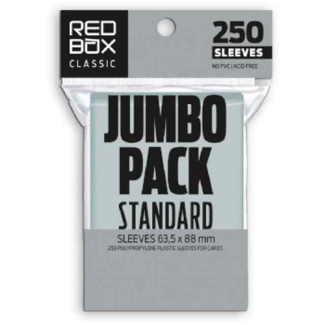 Fundas Redbox 63.5x88 60mic JUMBO (250 unid) TABLERUM