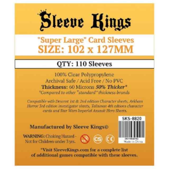 Fundas Sleeve Kings Super Large Sleeves 102x127 TABLERUM
