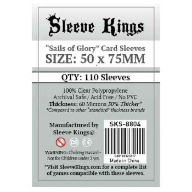 Fundas Sleeve Kings Sails of Glory 50x75 TABLERUM