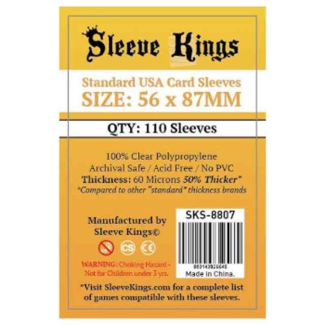 Fundas Sleeve Kings Standard USA 56x87 (110 uds) TABLERUM