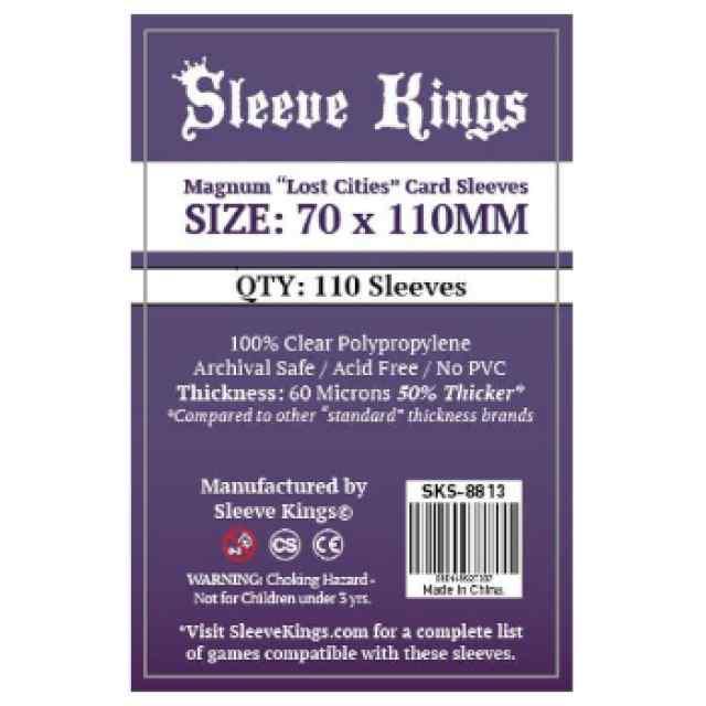 Fundas Sleeve Kings Magnum Lost Cities 70x110 TABLERUM