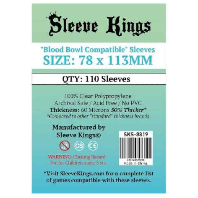 Fundas Sleeve Kings Blood Bowl 78 x 113 (110 uds) TABLERUM