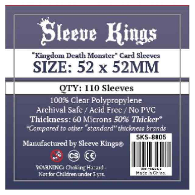 Fundas Sleeve Kings Kingdom Death Monster 52x52 TABLERUM