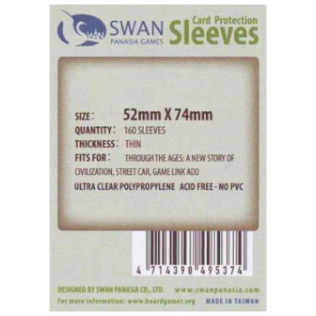 Fundas Swan Panasia 52 x 74 Estándar (160 uds) TABLERUM