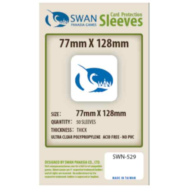 Fundas Swan Panasia 77 x 128 (50 uds) TABLERUM