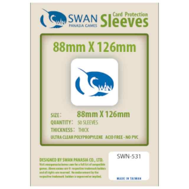 Fundas Swan Panasia 88 x 126 Premium (50 uds) TABLERUM